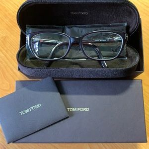 Authentic Tom Ford eyeglass frames